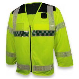 High Vis Long Sleeve Class 3 Medic Waistcoat