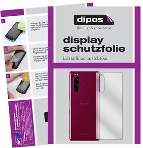 6x-Sony-Xperia-5-arriere-Film-de-protection-d-039-ecran-protecteur-clair-dipos