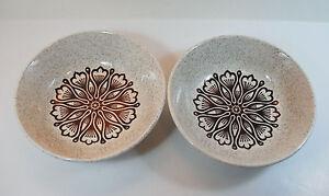 2 Vintage 1970\'s Biltons Tableware Cereal/Soup Bowls - Geometric ...