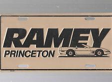 RAMEY AUTO DEALERSHIP LICENSE PLATE CAR TAG-PRINCETON, WEST VIRGINIA