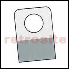 1000 Self Stick Clear Plastic Hang Tabs Tags Round Hole Adhesive Package Hangers