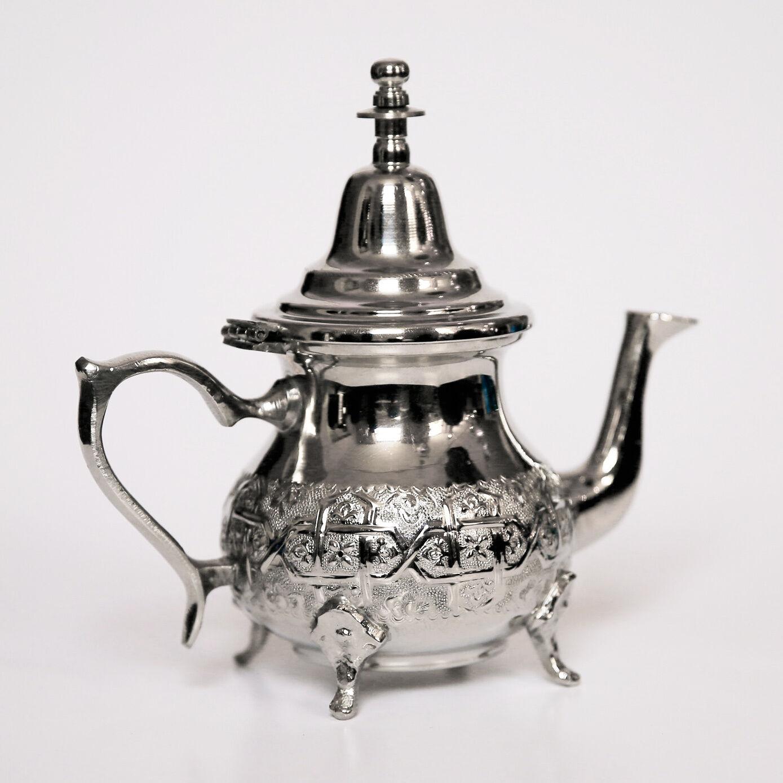 Teekanne Orientalische  Kanne Arabische Tee Minze aus Marokko 0,45L | Deutschland Outlet