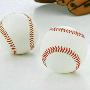 "9/"" Soft Leather Sport Practice /& Trainning Base Ball BaseBall SoftballPH"