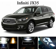 Xenon White Vanity / Sun visor  LED light Bulbs for Infiniti JX 35 (4 Pcs)