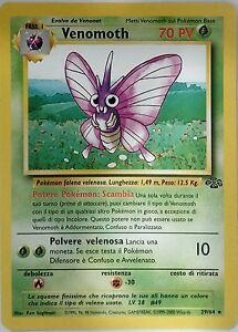 POKEMON-Venomoth-29-64-Unlimited-Jungle-ITALIANO