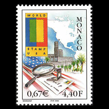 Monaco 2000 - International Exhibition WORLD STAMP USA - Sc 2173 MNH