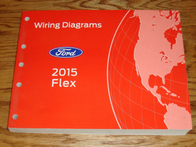 Original 2015 Ford Flex Wiring Diagrams Manual 15