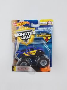 Hot-Wheels-Monster-Jam-Thrasher-Flashback-1-64th-Monster-Truck-Crushable-car