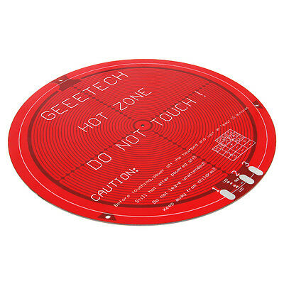 Geeetech Round PCB Heated bed for Delta Rostock mini Heat bed hot bed disc PCB