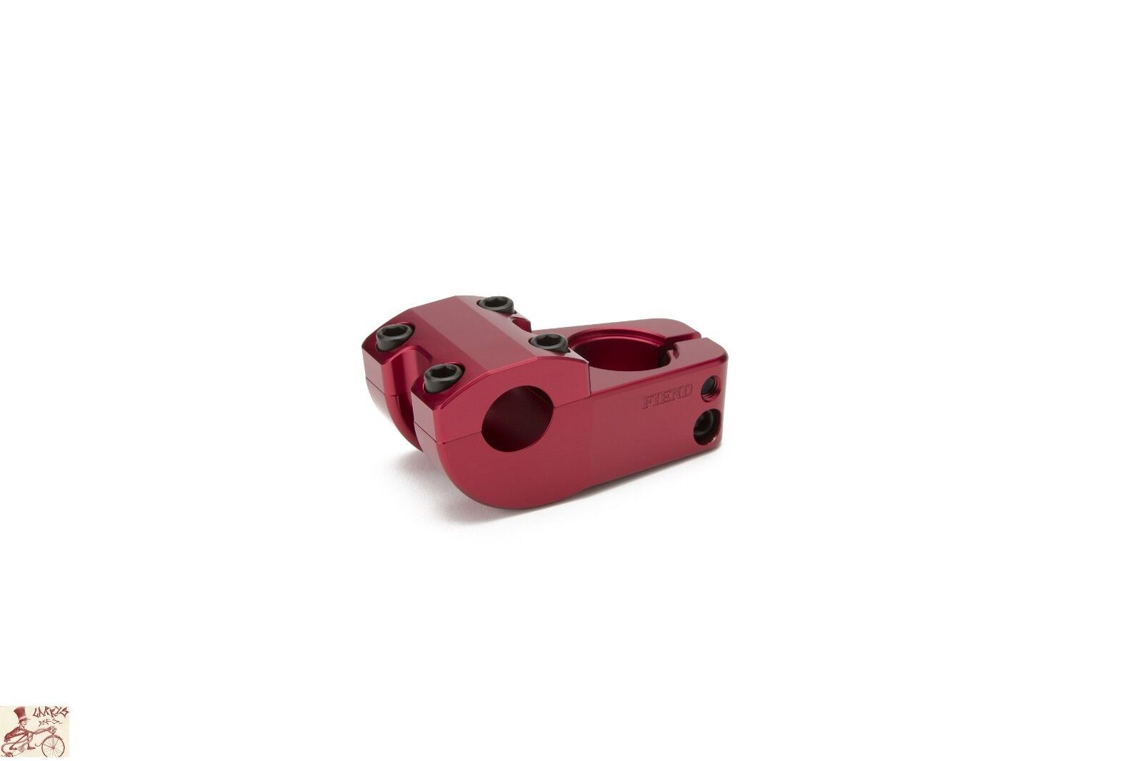 FIEND MORROW V3 TOP LOAD RED 1-1 8   BICYCLE STEM.  export outlet