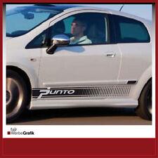Aufkleber /  Sticker / Seitenbeschriftung / Dekor / Fiat Grande Punto/ #041