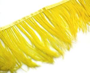 Sky Blue Ostrich feather fringe Trim Brooch//Fascinator Material F125 PER 30cm