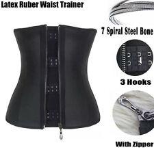 abfe1a038b item 3 Womens Latex Rubber Underbust Body Shaper Waist Trainer Cincher  Corset Vest Belt -Womens Latex Rubber Underbust Body Shaper Waist Trainer  Cincher ...