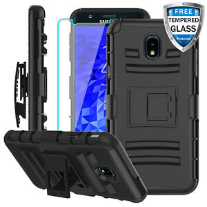 Details about For Samsung Galaxy J7 Crown/ Star/ Refine Stand Clip Case  With Screen Protector