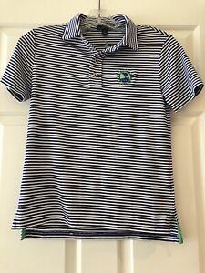 Boys-Small-Size-8-Pebble-Beach-Golf-Links-Polo-Ralph-Lauren-Golf-Shirt