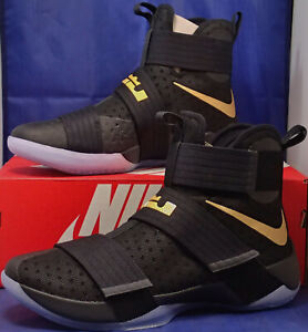 Sz 14 Soldier 885682 991 Nike Championship 10 Lebron Zoom Pack X Id Gold Black 4qS6aqpxwF