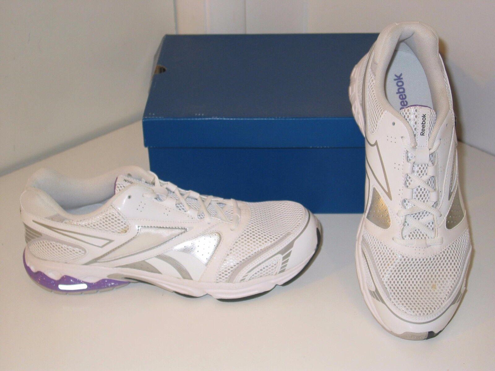 Reebok Instant II Running Cross Training White Mesh Sneakers Shoes Womens 10