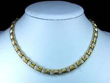 Rarest Gold and Diamonds Necklace and Ring Set by Roberto Coin-LAYAWAY WELCOME!