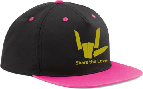 Share the Love Gold Edition Snapback Baseball Cap