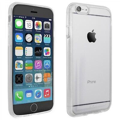 """Silikon Cover für Apple iPhone 6S Schutz Hülle 4,7"""" Handy Tasche Slim Case klar"""