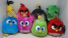 (UPDATED) Lot of 8 Angry Birds Movie Plush - Commonwealth Official 2016 NWT