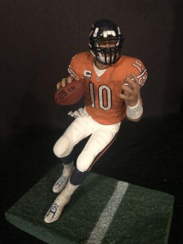 "Mitch Trubisky Chicago Bears Orange Jersey Custom 6/"" Mcfarlane Figure Football"