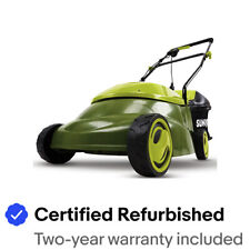 Sun Joe Electric Lawn Mower | 14 inch | 12 Amp | Refurbished