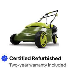 Sun Joe Electric Lawn Mower   14 inch   12 Amp   Refurbished