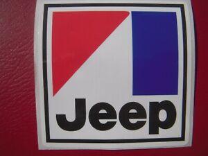 AMC Jeep decal emblem CJ5 CJ7 Wagoneer Renegade J10 J20