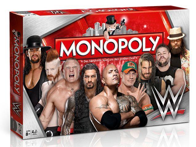 Monopoly WWE Wrestling Brettspiel deutsch NEU & OVP