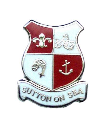 Sutton On Sea Quality Enamel Lapel Pin Badge