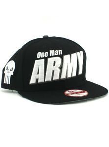 the best attitude a1bb3 4b007 Image is loading New-Era-Punisher-One-Man-Army-9fifty-A-