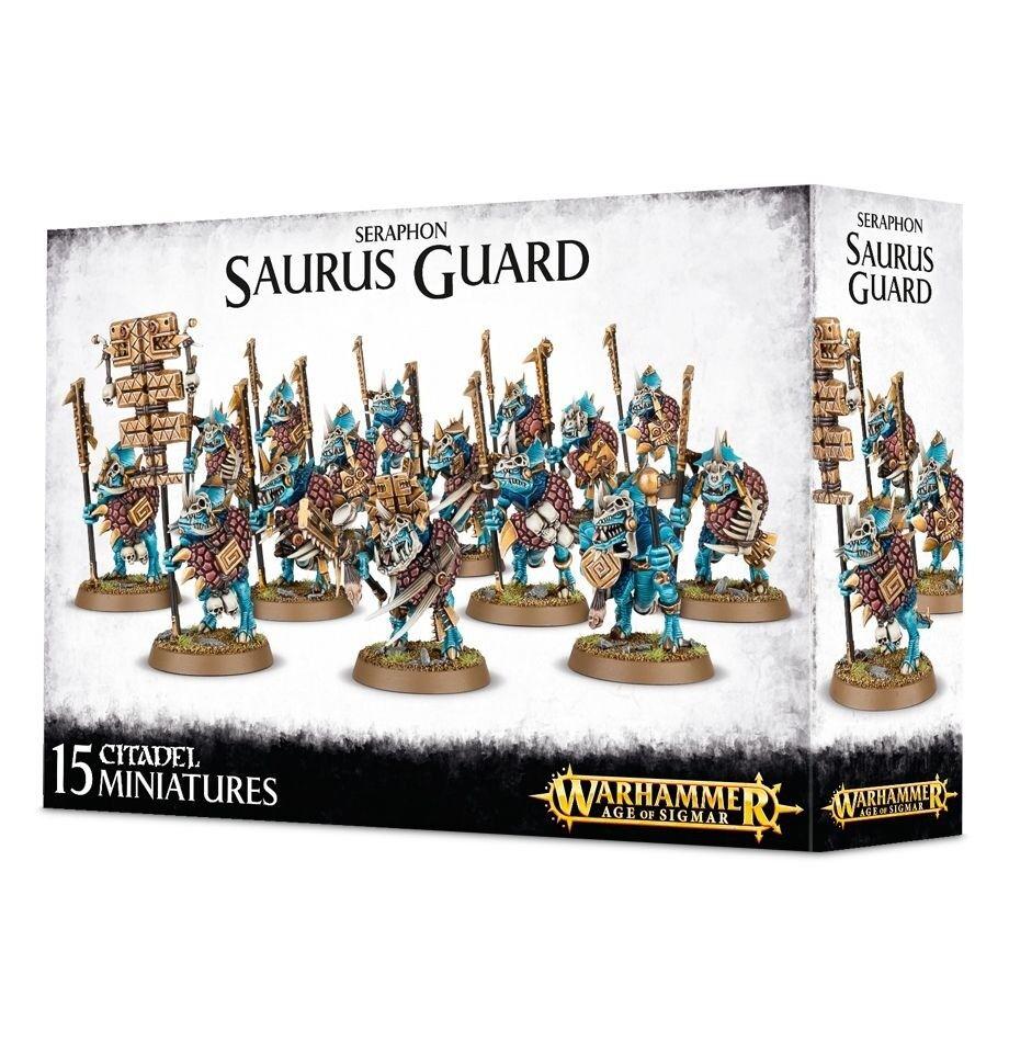 Warhammer Seraphon Saurus Guard 88-12
