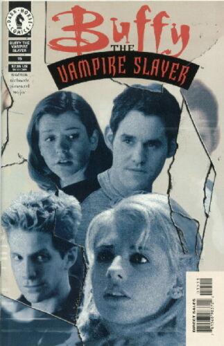 Buffy The Vampire Slayer Comic Book #15 Dark Horse 1999 Photo Cover NEAR MINT