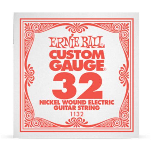 Ernie Ball Nickel Wound Electric Guitar String 32