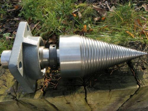 Holzspalter Kegelspalter Drillkegel ⌀230 mm Flansch für hydraulikmotor
