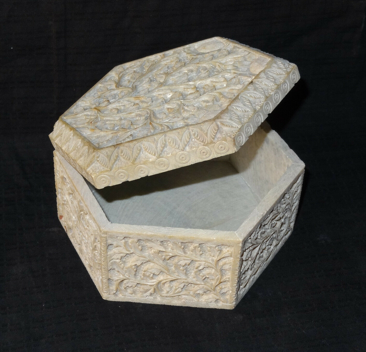 Marble Jewelry Box Trinket Gorara hand Home Decor Handmade Eid Ramzan SpeciGifts
