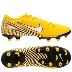 2c01b7315 Nike Mercurial Vapor XII MG Neymar NJR WC 2018 Soccer Shoes Yellow ...