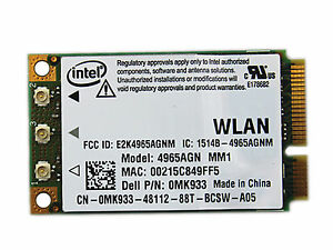 Intel 4965AGN WiFi Link Adapter Wireless Drivers for Windows 7