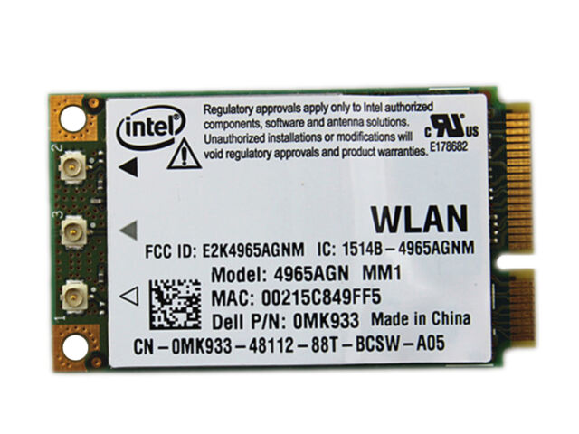 INTEL PROWIRELESS 4965AGN MINI-PCI EXPRESS TELECHARGER PILOTE