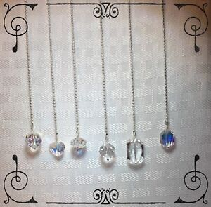 You-Choose-Handcrafted-Fan-Light-Pull-Made-with-Genuine-Swarovski-Silver-1-5mm