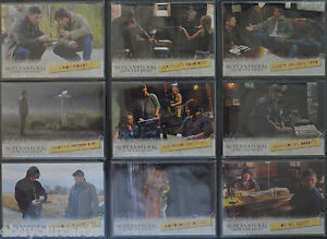 Supernatural-Seasons-1-3-Complete-Locations-9-Trading-Card-Insert-Set-L01-L09