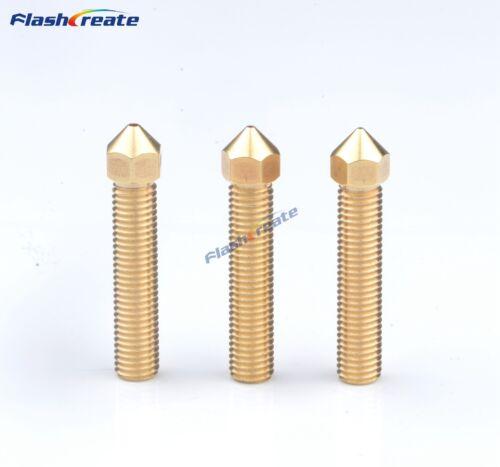 3D Printer Nozzle 40MM Lengthen long 0.4//0.5//0.8//1.1//1.3mm M7*32mm For 1.75mm