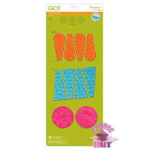 55071 - AccuQuilt GO! & GO! Big Dresden Plates Fabric Cutting Die Applique Quilt
