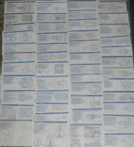 Pick /& Choose 1982-1985 GI Joe Cobra Peach File Card Series v 1 1.5 2 3 4 Lot A