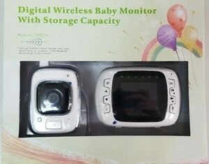 Baby-Monitor-2-4GHz-Color-LCD-Wireless-Audio-Talk-Night-Vision-Digital-Video