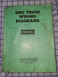 1972 GMC Truck Wiring Diagrams Manual All Models
