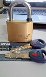 MAUER-185-005-NW4-High-Security-Padlock-NO-MASS-PRODUCTION