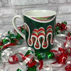 Department 56 Ribbon Candy Collector Mug Cheryl Johnson Dept 56 1991