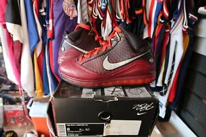 bd33b4ee598 Nike Lebron James VII 7 XMAS christmas retro rare authentic size 8 ...